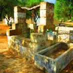 Antico pozzo d'acqua (sicuro)